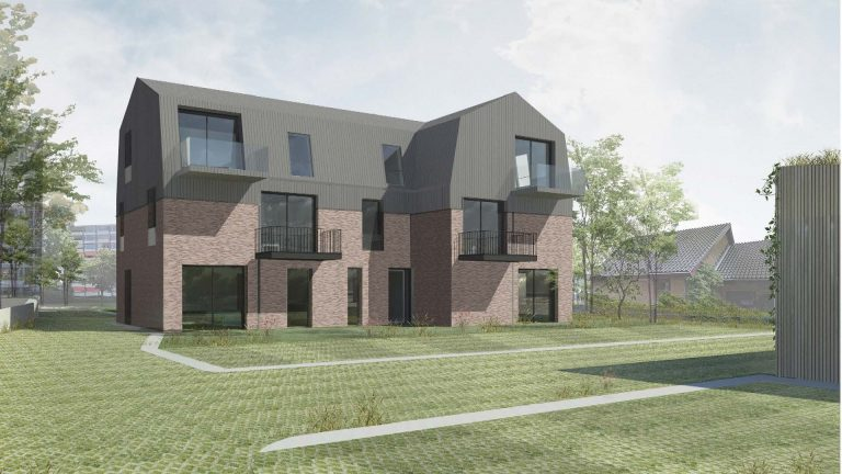 Project 12 appartementen Poeloever Horsman & co